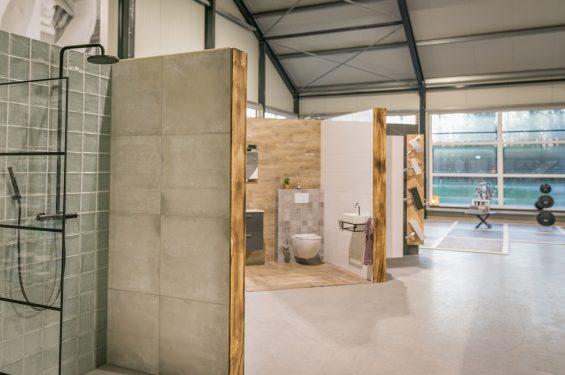 Sanitair showroom