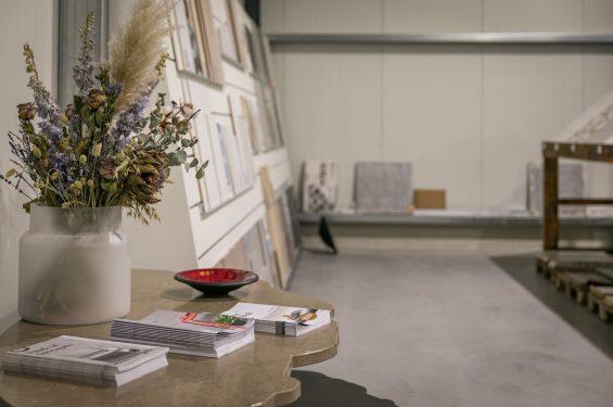 Tegel showroom Texel